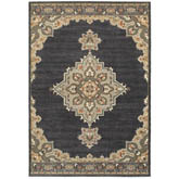 Oriental Weavers Pasha 072E2 Blue and Grey
